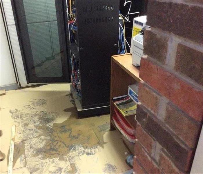 Commercial Flood Cleanup Before