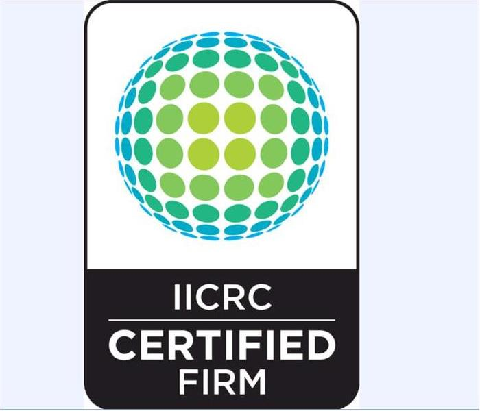 Building Services SERVPRO of Bourbon, Clark, Harrison, and Montgomery Counties is an IICRC Firm!